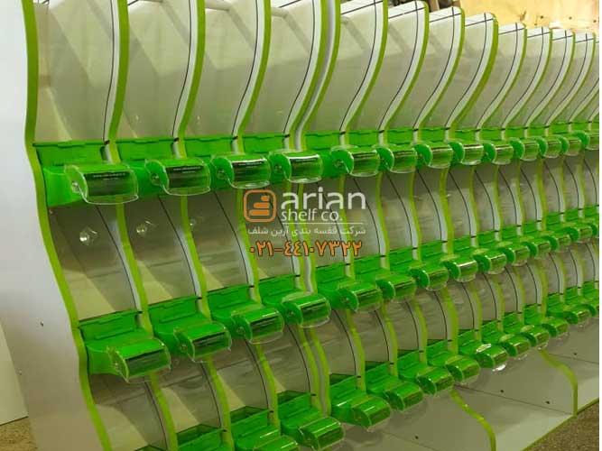 قفسه سوپرمارکتی حبوباتی
