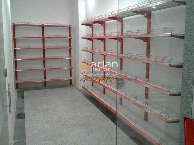 قفسه بندی سوپرمارکتی یکطرفه